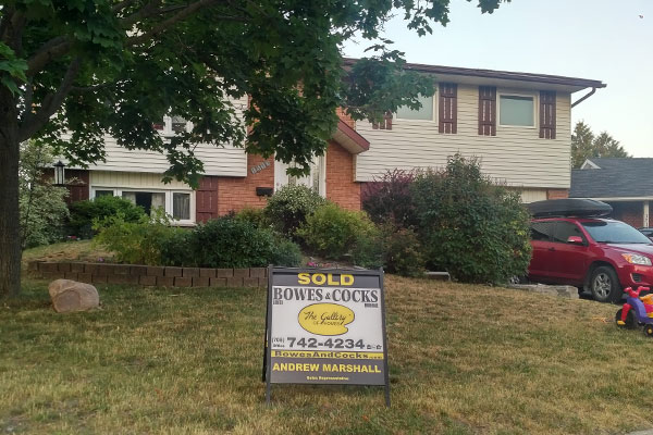 House sold by Andrew Marshall sales rep